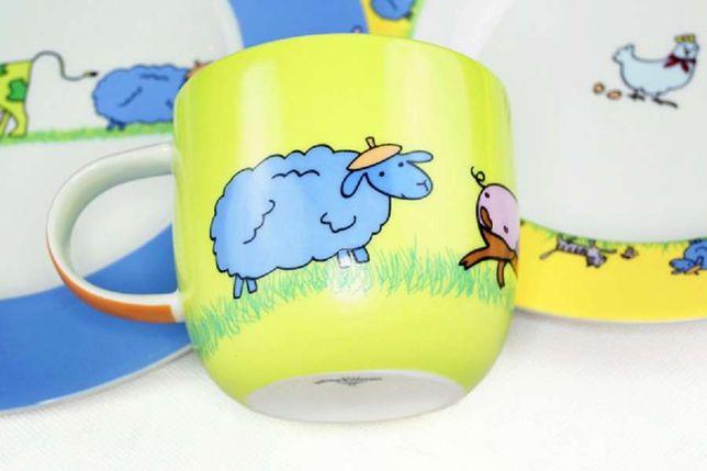 Villeroy&Boch Farm Animals - ekskluzywna porcelana dla dzieci.