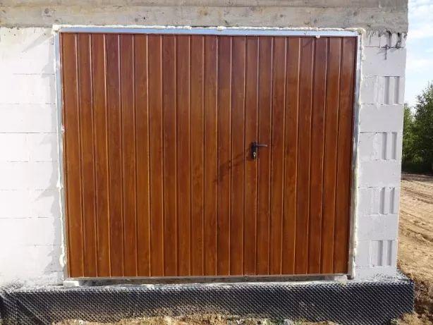 Brama uchylna garażowa BRAMY NA WYMIAR Bramy Garażowe Drzwi do Garażu