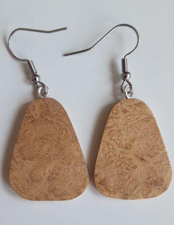 Biżuteria z drewna - kolczyki, naszyjniki, breloki i inne