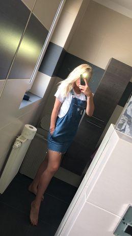 Jeansowa sukienka.