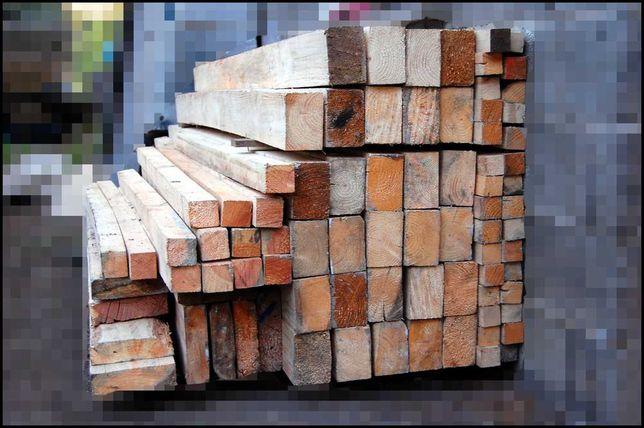 Kantówka, krawędziak, legar, łata, belka /drewno / suche / 110 x 75