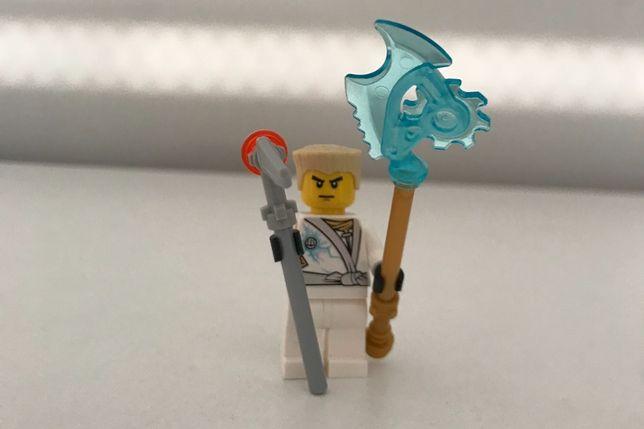 Lego Ninjago Zane biały ninja Techno Robe
