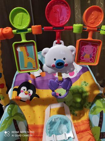 Детское кресло качалка, укачивающий центр