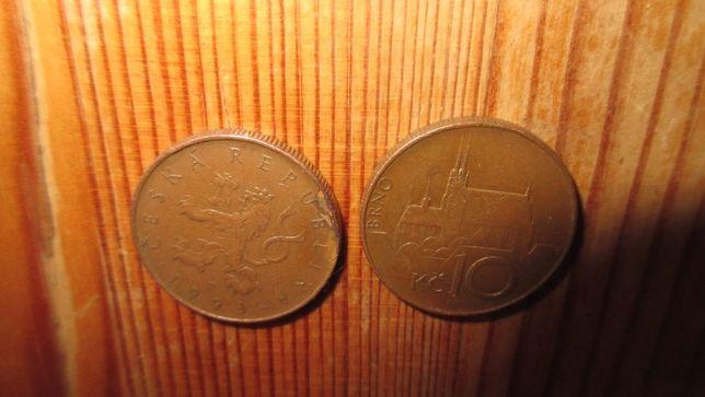 stare zabytkowe monety 10 koron