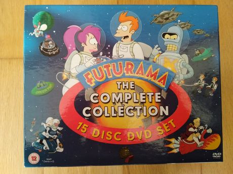 Futurama The Complete Collection 15 DVD set