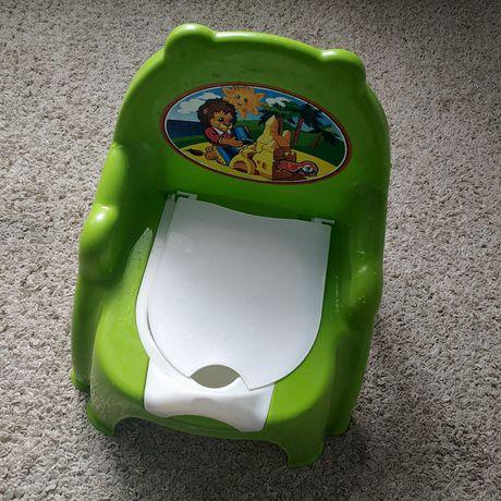 Горшок дитячий зелений