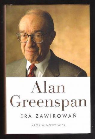 Era zawirowań - Alan Greenspan książka