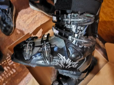 Damskie buty narciarskie  Dalbello Aspire 57 black/cola rozmiar 255