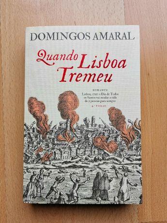 Livro Quando Lisboa Tremeu