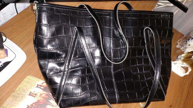 Сумка дамская сумочка женская новая кожа кожаная