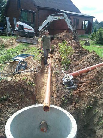 Чистка сливных ям.Ремонт выгребных ям.строительство новых сливных ям .