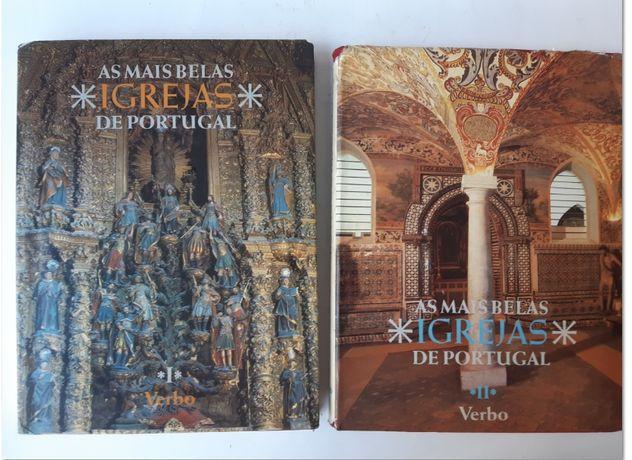 As mais belas Igrejas de Portugal - 2 Vols