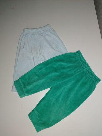 Велюровые штанишки 74 см C&A