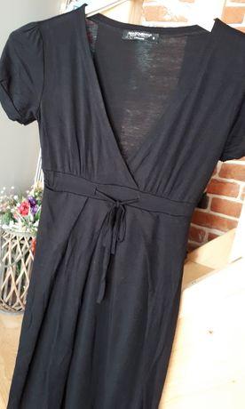 OKAZJA Ciążowa sukienka czarna RINASCIMENTO