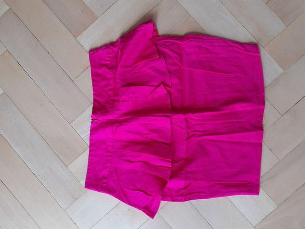 Spódnica spódniczka mini z baskinka S
