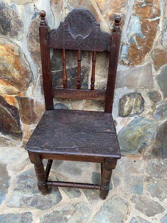 Cadeira em castanho Séc XVIII