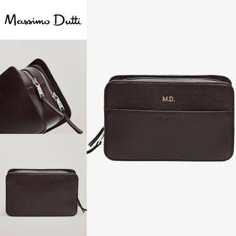 Продам кожаную сумку/барсетку Massimo Dutti
