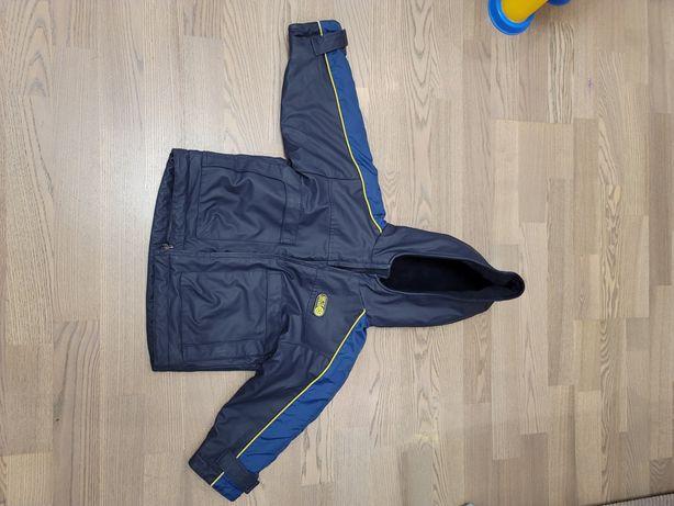 Куртка детская синяя