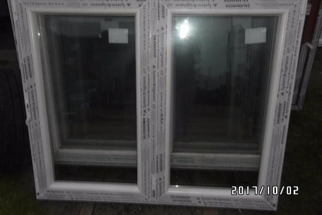 Sprzedam okno pcv nowe wys 113 szer 146 dwuskrzydłowe . BARDZO TANIO