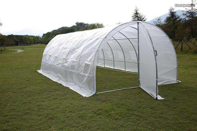Estufa agrícola 8x3x2,30mt - qualidade premium -