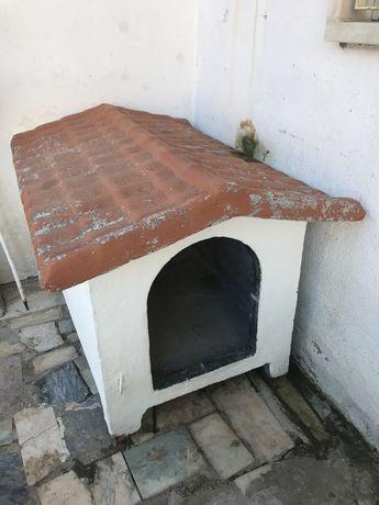 Casota de cão em cimento