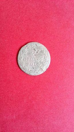 Продам не частую Серебряную монету 5 Грош 1820 года(Россия для Польши)