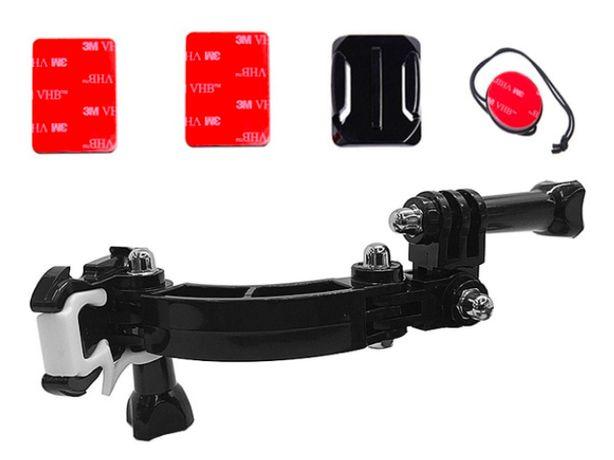 Akcesoria do GoPro - Zestaw Mocowań KASK Motor Rower do GoPro 9 8 7 6