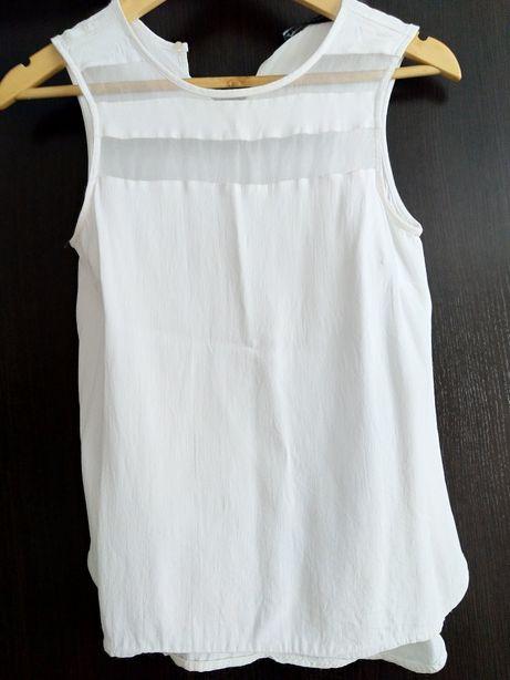 Biała bluzka Zara r.S