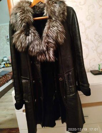 Дублянка дубленка пальто курточка
