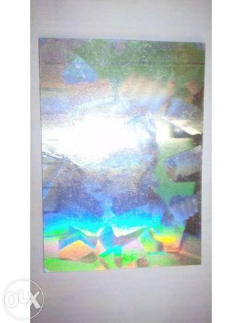 Carta holográfica rara super homem - portes gratuitos