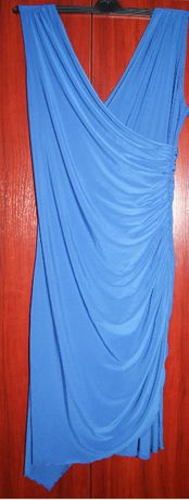 Sukienka niebieska FIGL Rozm. XL