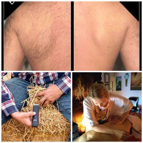 Depilacja męska intymna/ masaż / odnowa biologiczna