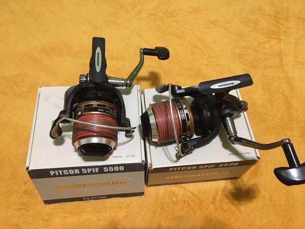 Продам дві Карпові катушки Cormoran Pitcor 5PiF 5500