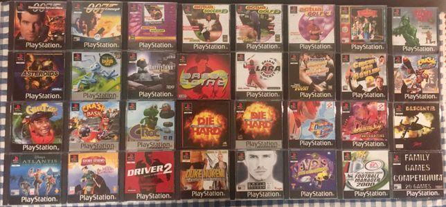 JOGOS PLAYSTATION 1 / PS1    (venda à unidade)