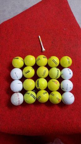 10 Bolas de golf de varias marcas