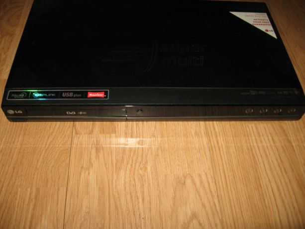 LG nagrywarka i odtwarzacz DVD z pilotem