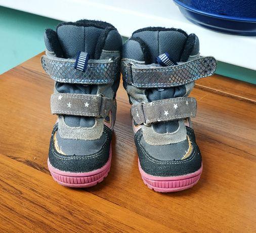 Детские зимние ботинки Mido Noster для девочки, 22 размер