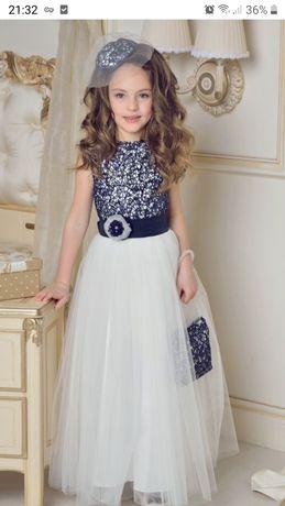 Выпускное платье размер 116 - 122