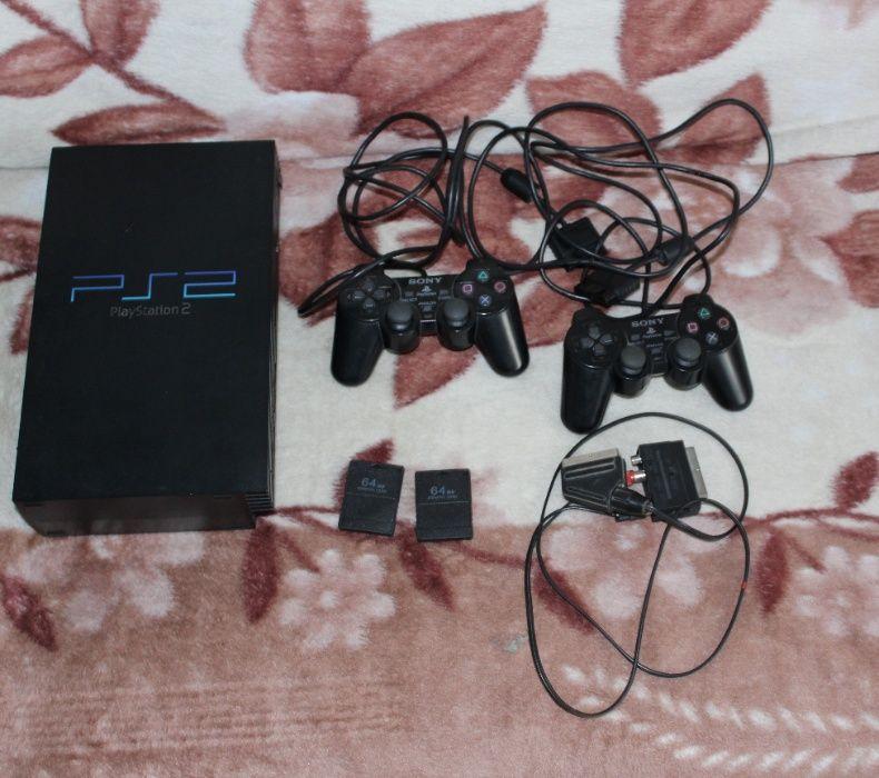 Prawie jak nowa konsola PS2 FAT Augustów - image 1