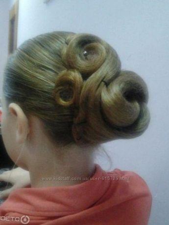 Сеточка для волос,создания прически. Идеально для бальных танцев.