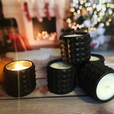 Соевая свеча, свечи натуральные.Аромосвечи.