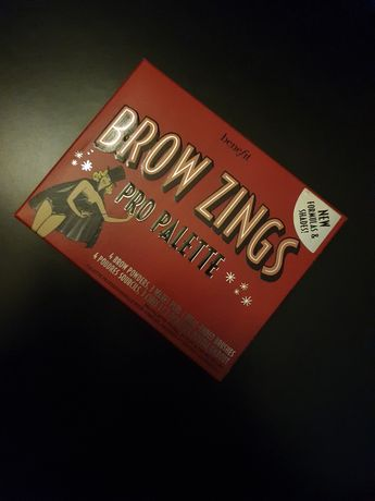 Brow Zings pro palette light medium paleta do brwi