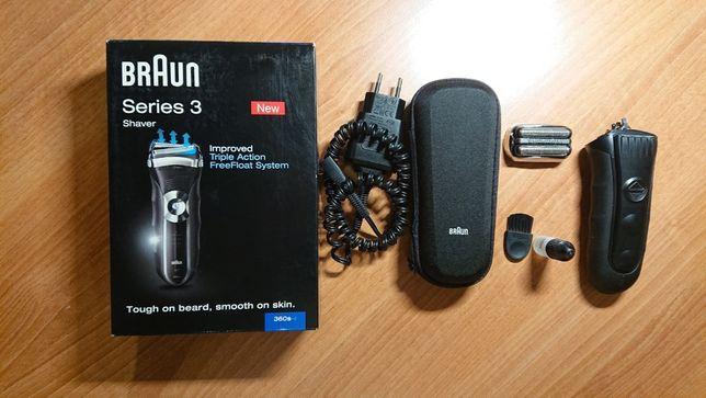 Электробритва Braun 360s-4 Series 3 триммер аккумулятор футляр качеств