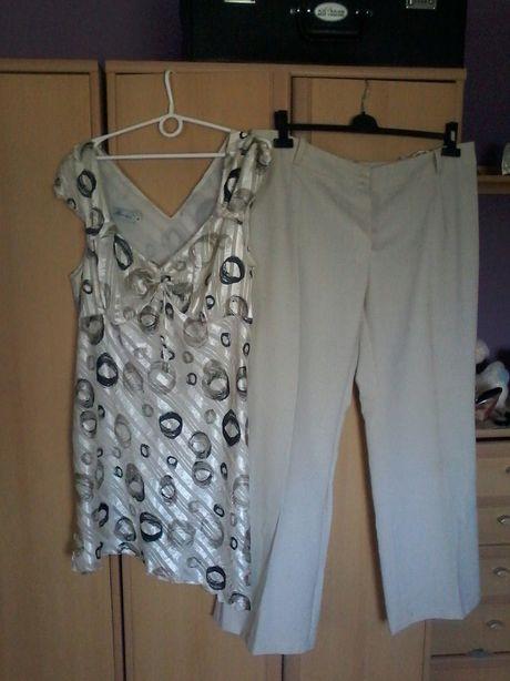 Komplet tunika i spodnie rozm 50