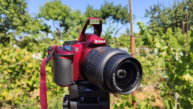 Nikon D3100+Сумка+16G Карта Фотоаппарат,Зеркалка,не D3000,Как Новый!
