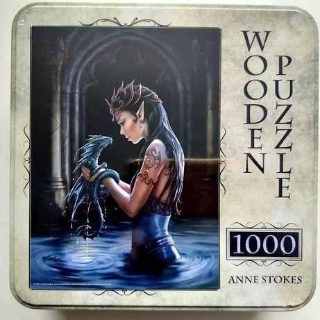 Puzzle 1000 Adex drewniane