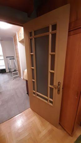 Drzwi wewnętrzne pokojowe, prawe, 4 szt