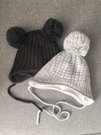Komplet czapek 56,62 czapka zimowa