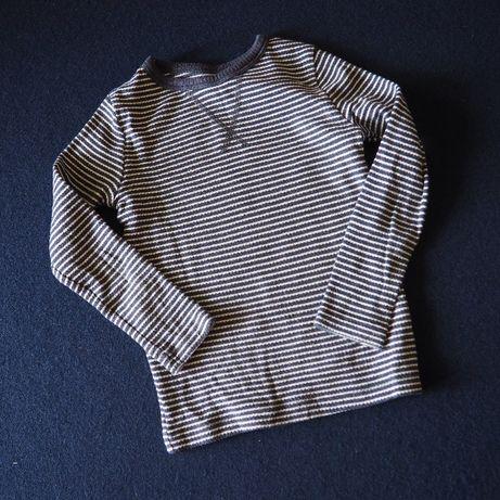 koszulka dzianinowa długi rękaw 116 F&F