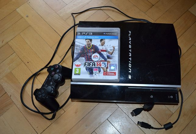Konsola Playstation PS3 40 GB + Pad + FIFA